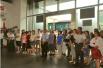 """""""两学一做""""——上海临港管委会赴文化装备应用示范中心参观学习"""